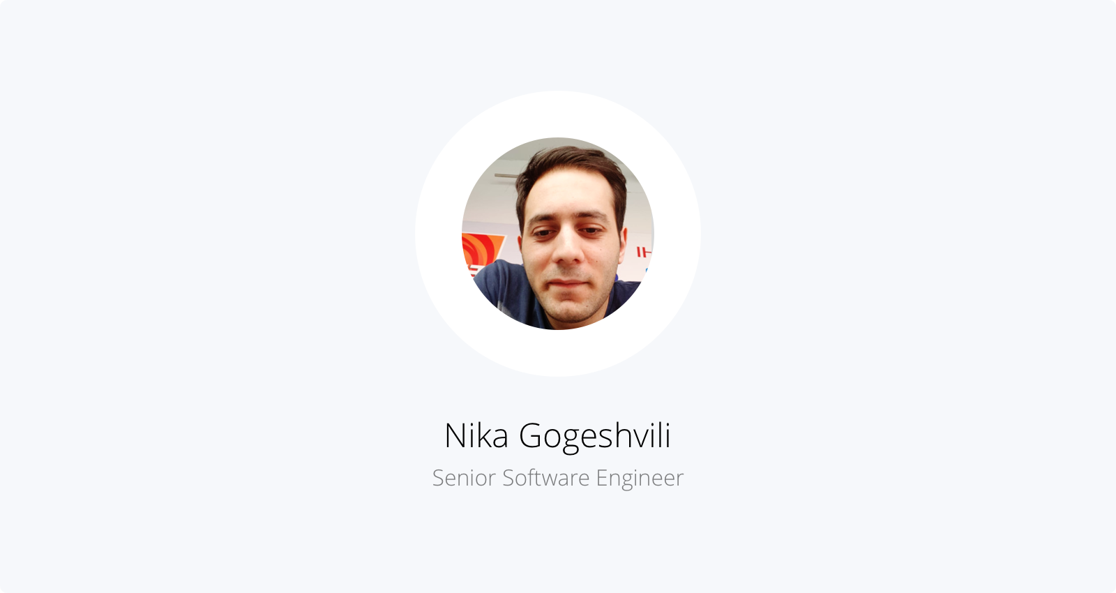 Nika, senior software engineer at Capbase