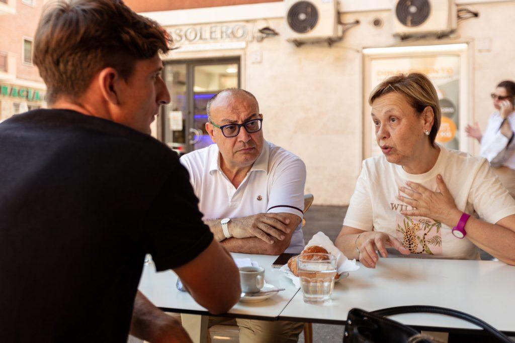 Antonella e Carlo hanno venduto la casa in centro a Roma, per iniziare una nuova fase della loro vita