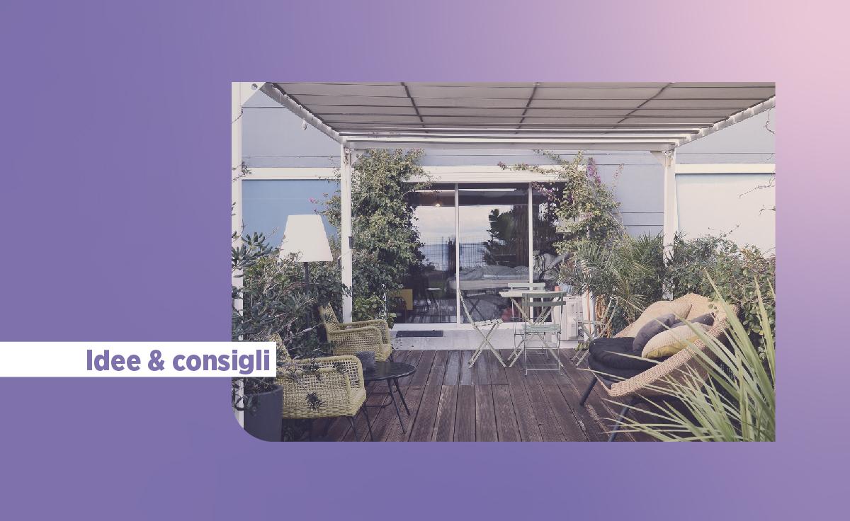 10 idee e consigli su come arredare una veranda